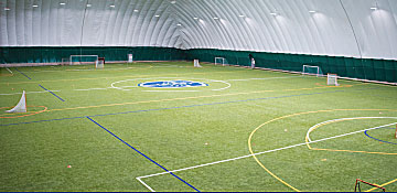 Gillette indoor turf field open